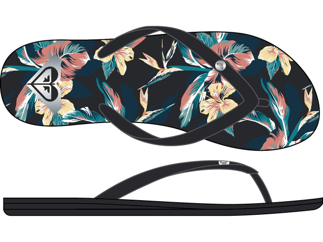 Roxy Bermuda Print Sandals Women anthracite